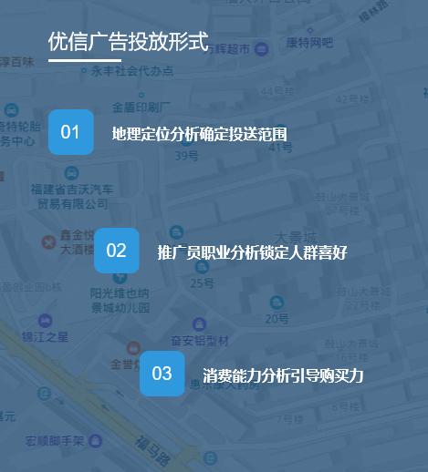 优信传媒广告提供专业的福州微信推广服务
