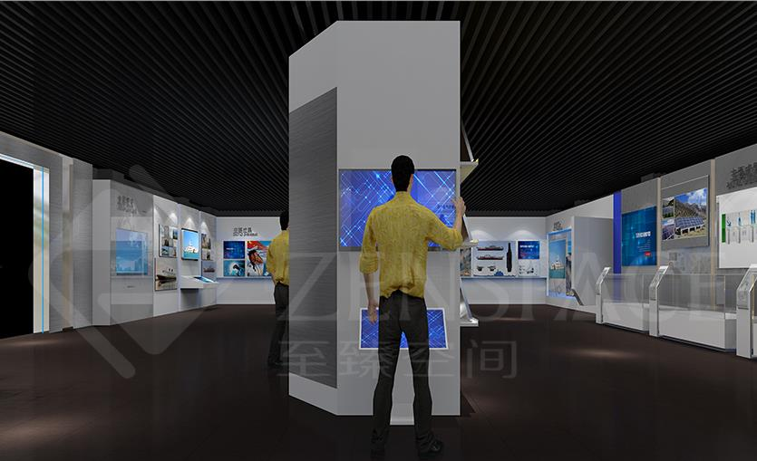 至臻空间展会搭建,高端正品,品质多媒体展厅设计选择