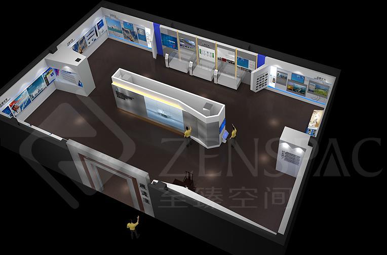 企业馆展厅设计,至臻空间专业武汉展览设计公司,价格实惠