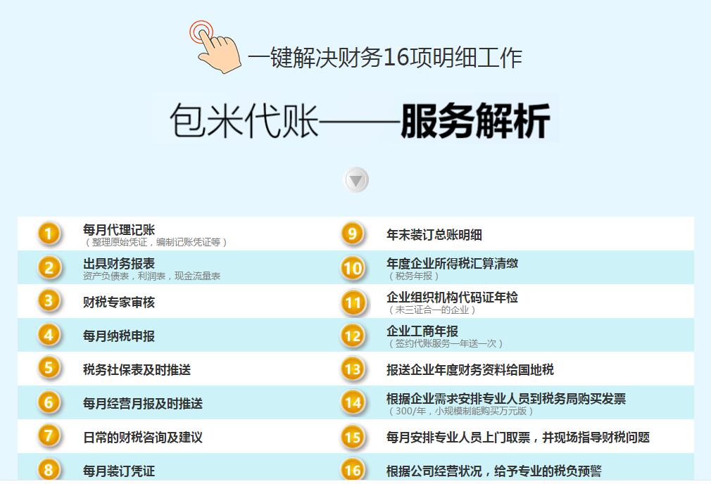 西安财税代账生产研究