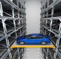 簡單操作,高效兩層停車產品