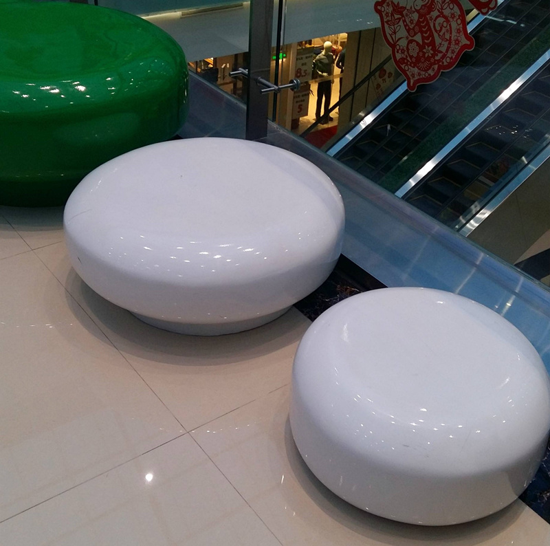 专业生产玻璃钢风道,玻璃钢休闲椅优选玉英玻璃钢厂