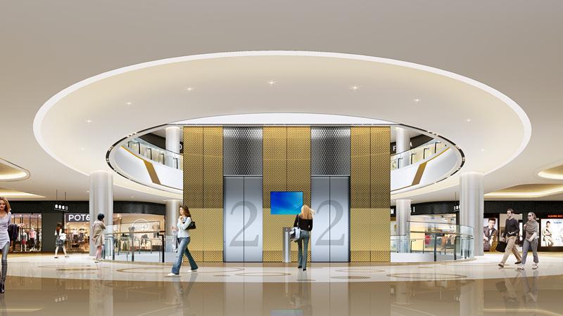 百貨商場室內設計,水立方商場設計空間,價格合理,量大從優