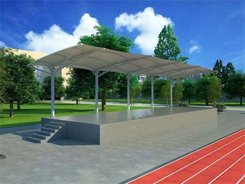優質的商業廣場膜結構_北京市專業的廠房膜結構用什么好